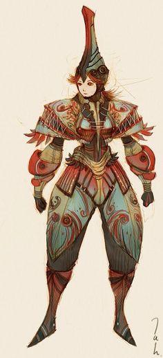 Deviant Art, Character Design Artist: Kyoung Hwan Kim