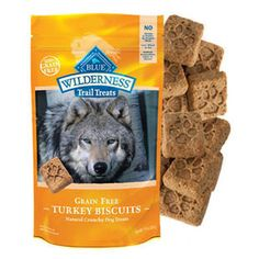 BLUE BUFFALO WILDERNESS TRAIL TREATS TURKEY BISCUITS 10 OZ - BD Luxe Dogs & Supplies