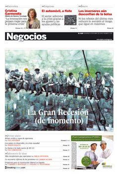 Ilustración de Eduardo Estrada en El País de los Negocios.