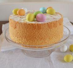 easter chiffon cake #ricetteaquadretti #thisishome