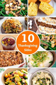 Here's 10 EASY to make Thanksgiving side dishes for your big feast that are surely going to be a hit   jessicagavin.com