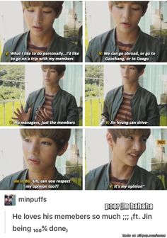 lol taetae don't worry, maybe one day y'all can go. Without any problems.