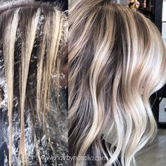 Balayage hair painting technique hair in 2019 окрашивание во Cabelo Ombre Hair, Balyage Hair, Balayage Blond, Balayage Highlights, Blonde Hair, Hair Foils, Balayage Technique, Hair Technique, Short Hair