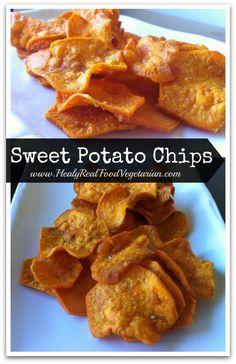 AIP Sweet Potato Chips @ Healy Eats Real #paleo #coconutoil #sweetpotato #healthy #gf