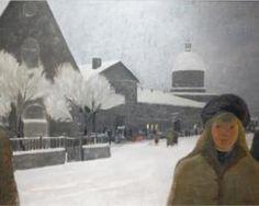 Jean-Paul Lemieux. Montréal il y a longtemps, 1966