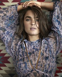 Editorial: From StyleMeRomy.com, Bambi Northwood-Blyth wears Riot Web Dress from Resort 15 RTW