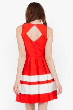 Croquet Match Skater Dress — Katya's Collection