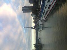Cloudy Eiffel Morning