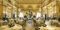 The Louis XV restaurant inside the Hotel de Paris is a temple of gastronomy...Best dinner on the planet!
