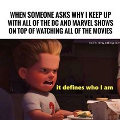 And thats just it simple. I love everything comicbook related.