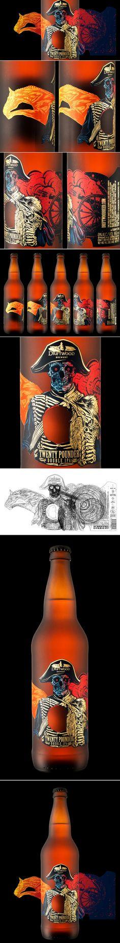 Twenty Pounder Double IPA — The Dieline | Packaging & Branding Design & Innovation News