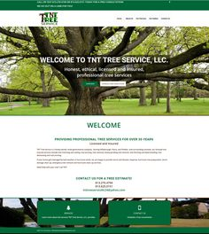 Website For Tree Service Company Awards Web Design Templates Models