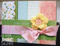 Layered Paper Card #card
