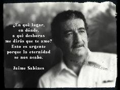 Radio Saudade: Jaime Sabines