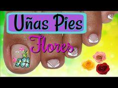 Toe Nail Art, Toe Nails, Toe Nail Designs, Pedicure, Beauty, Triangles, Youtube, Nail Colors, Safe Room