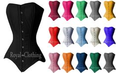 Comfort with Grip Heavy Duty Double Steel Boned Waist Training Long Line Over Bust Cotton Corset Cotton For Perfect Hourglass Figure and will Reduce Waist upto 5 inches Royal Shop, Royal Clothing, Hourglass Figure, Waist Training, Nyc Deals, Trainers, Bodysuit, Steel, Corsets
