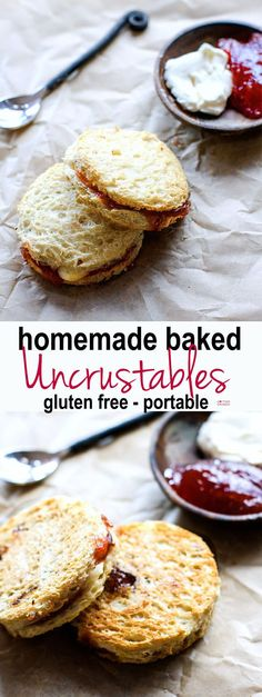 """Gluten free homemade baked """"Uncrustables"""" (aka Quick Crusts). Real food fuel, easy to make, healthy, and great for meals/snacks on the go! Kid…"""