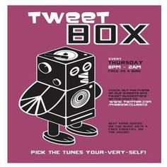 Tweetbox at The Book Club, 100 - 106 Leonard Street, London, EC2A 4RH, UK on Mar 26, 2015 to Mar 27, 2015 at 8:00pm to 2:00am. It's time for you to take control at this weekly event and hand pick the tunes your-very-self! You must impress our colourful host Mr TPFD if you want your track played. Best song choice on the night gets a free cocktail on the house! Category: Nightlife, Price: Free.