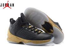 beb282a0d18c99 Men s Air Jordan Melo M11 Basketball Shoes Black Gold 716227-012
