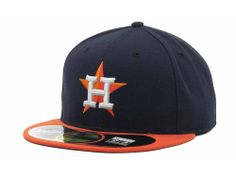 Houston Astros New Era MLB Authentic Collection 59FIFTY Cap Hats $35.99