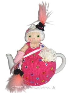 NOTE: You will receive the PATTERN to make your own toy NOT the finished toy!    What a lovely tea cosy!  What a beautiful Marie Antoinette!