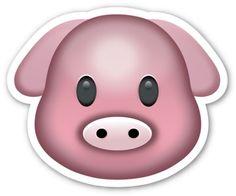 Pig Face | EmojiStickers.com