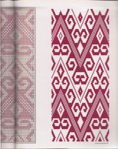 Willow Weaving, Textiles, Weaving Patterns, Crochet Chart, Kilim Rugs, Lana, Bohemian Rug, Cross Stitch, Quilts