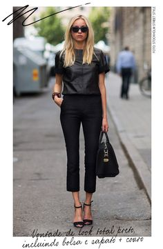 All black - Fashion Gazette