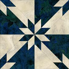 Free quilt pattern with templates for and blocks. Online calculator for fabric amounts needed for the size of quilt you want to make. Barn Quilt Patterns, Pattern Blocks, Canvas Patterns, Star Quilt Blocks, Star Quilts, Hunters Star Quilt, Two Color Quilts, Quilt Sizes, Quilt Tutorials