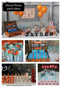 A great party share full of ideas for a Disney Planes party! Click the picture to see the full party! #Planespartyideas