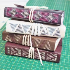 leather journals by dani fox bookbinding