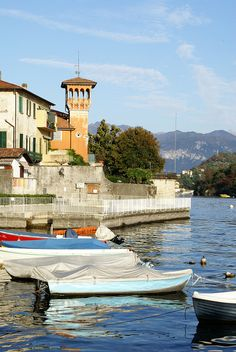 Sala Comacina in a sunny fall afternoon by ar-men15, via Flickr, province of Como, Lombardy region Italy