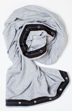 double wrap to keep your neck warm on the way to practice. | Village Chill Scarf