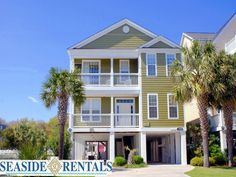 Surfside Beach Vacation Rental Home - Carolina Crew
