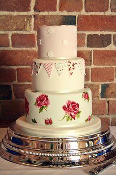 Country Fete wedding cake