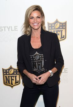 So chic! DWTS host Erin Andrews stepped out at the NFL Women's Style Showdown event in NYC on Sept. 24.
