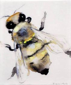 Bee III | lisa krannichfeld Saatchi Art Artist.