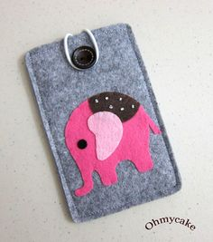♥♥ The listing is for one Elephant iPhone sleeve. Default size is for iPhone 6plus/6s plus. You can choose the closure when purchase. More design at: www.ohmycake.etsy.com  ♥♥ Custom Size Available. If you have different size cell phone, please measure it by Height x Width x Depth. If you use any rubber case cover, hard case cover, or leather case cover on your phone, please send me all details and whole size. I will adjust this Elephant sleeve larger. ♥♥ Custom Color Available. You can…