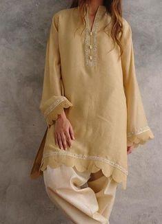 Best 12 Kurtis design – Page 318207529920529471 – SkillOfKing.Com – SkillOfKing. Stylish Dress Designs, Designs For Dresses, Stylish Dresses, Women's Fashion Dresses, Casual Dresses, Baggy Dresses, Hijab Fashion, Formal Dresses, Simple Pakistani Dresses