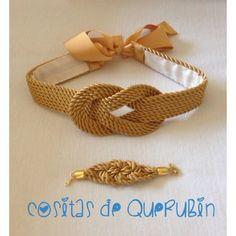 Cinturon dorado