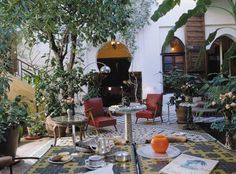 Moroccan Living Room Decor on Morocco Patio Decor From Accomodationsrome Com