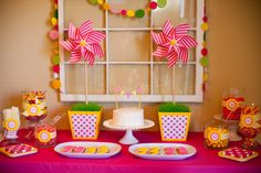 Cute Pinwheel Party