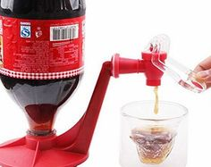 Exoticbuy Novelty Home Bar Portable Coke Faucet Dispenser Soda Soft Drinking Drink Saver Color: Red Material: Plastic Size: 17x17cm (L x H) Diameter: 10cm Weight: 0.081kg Product Overview:  (Barcode EAN = 0706795277299) http://www.comparestoreprices.co.uk/december-2016-week-1-b/exoticbuy-novelty-home-bar-portable-coke-faucet-dispenser-soda-soft-drinking-drink-saver.asp