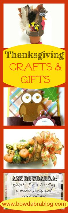 Bowdabra Thanksgiving Crafts and Gifts