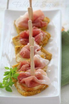 #polenta #scamorza #speck #fingerfood #recipe #appetizer