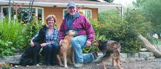 Robert and Carol Zelenka grow pulses, oilseeds and cereals on their farm near Taber, Alta.