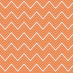Chevron orange fabric by Boho