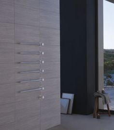 integrated towel warmer | radiator || VOLA T39W