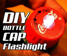 Yes this is a flashlight built in a bottle cap :)I thought that would be funny to turn a regular cap into a flashlight nothing more only that can I do it?And yes I made it that was a long journey with a lot of attempts!But If you stay with me you can make your own ;)So let's start...