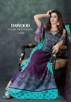 hijab De Chiffon Summer 2013 Collection by Dawood...love the colors